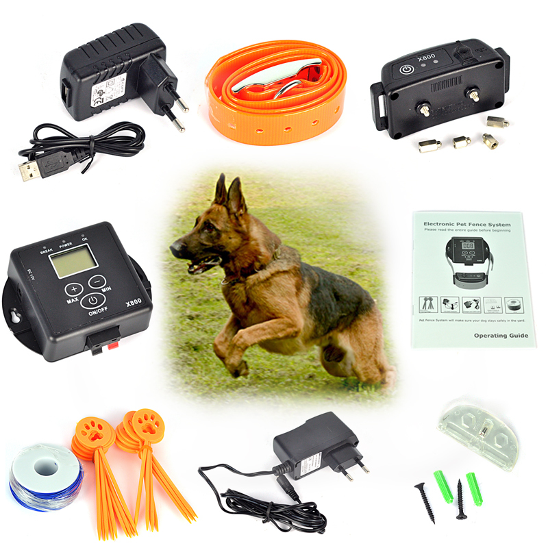 5000 Square Meters Wireless Invisible Electronic Pet Dog Fencing System for Dogs Pet Safety Electric Dog Fence Controller(China (Mainland))
