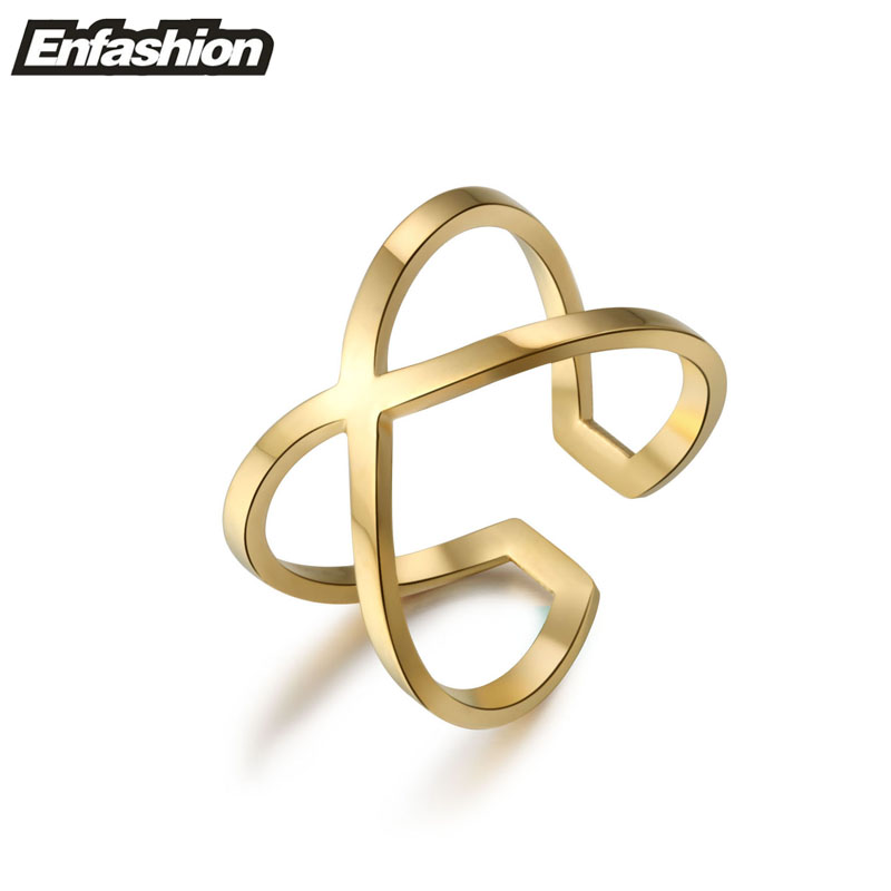 Fashion infinity ring knunkle midi rings for women 18K rose gold plated ring adjustable ring stainless steel jewelry wholesale(China (Mainland))
