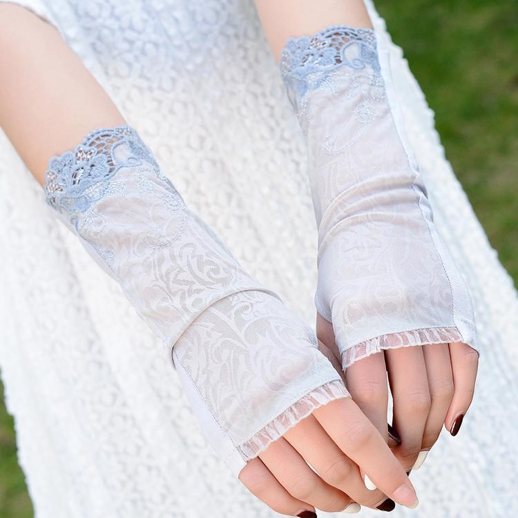 Compra guantes de seda fina online al por mayor de china - Guantes de hielo ...