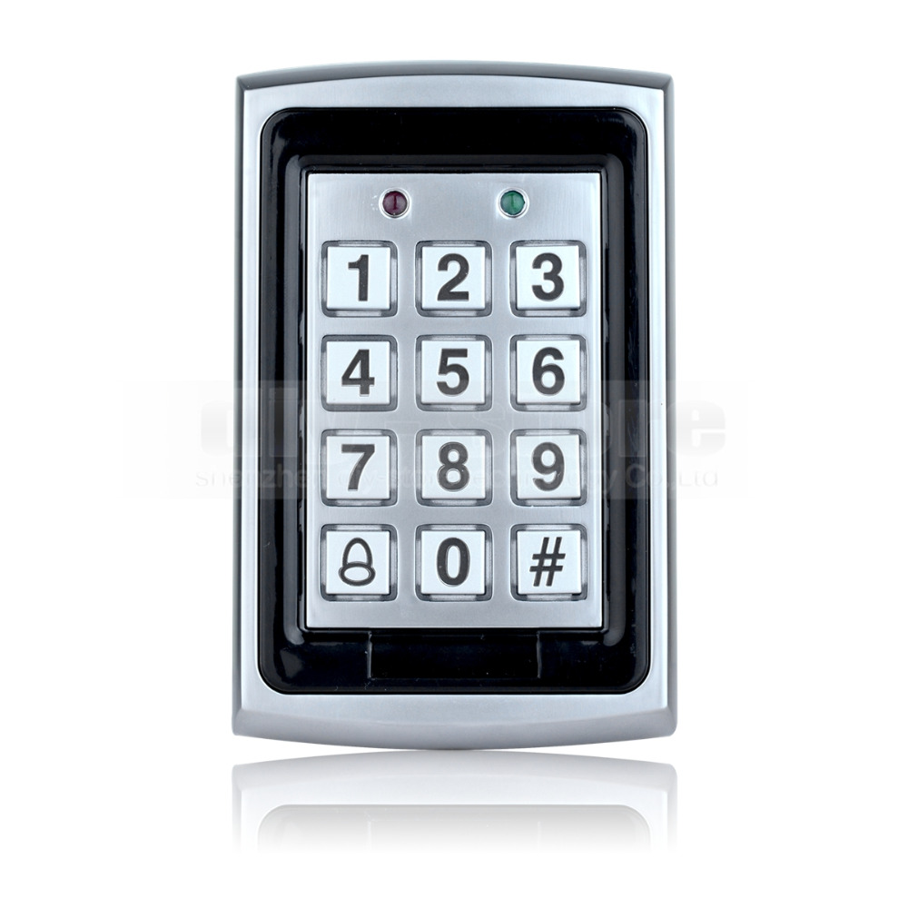 RFID ID Card Reader Entry Metal Door Access Control System +10 ID Card Key Fobs Brand NEW(China (Mainland))