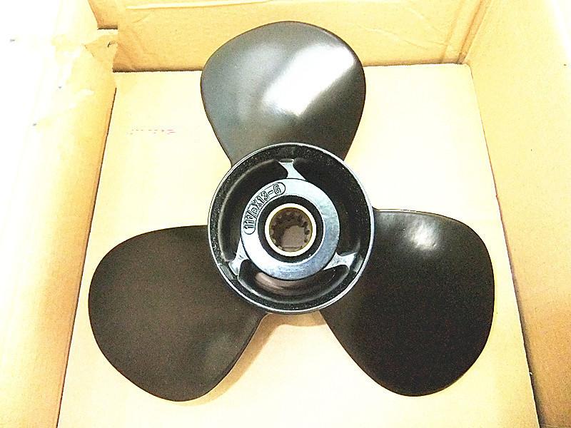 Aluminum Propeller for Suzuki / Yamaha / Honda / Tohatsu 40HP 50HP 55HP Outboard Motors 11 1/8x13-G 11 1 /8 x 13 -G<br><br>Aliexpress