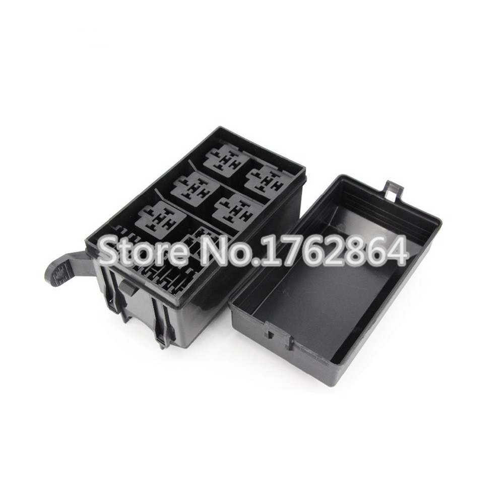 online get cheap automotive fuse terminals aliexpress com 6 way auto fuse box assembly terminals and fuse auto car insurance tablets fuse box mounting fuse bo auto relays box