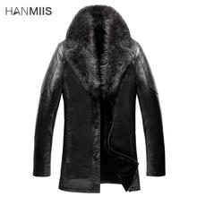 2015 Crocodile fur one piece male leather clothing male slim genuine leather sheepskin fur coat with a leather gloves(China (Mainland))