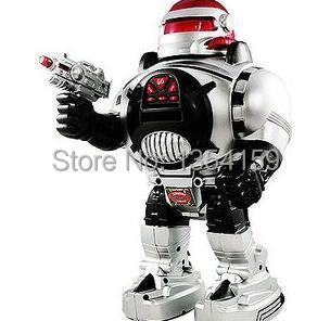 Multi-function Programmable infrared remote control robot rotate dance launch Frisbee robot Remote control toy robot(China (Mainland))