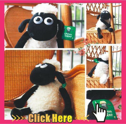 Juguetes Shaun The Sheep Dog Bitzer 2015 New 25cm/32cm Cute Baby Lamb Plush Animal Toys Christmas Gift Pelucia Kids Best Gift(China (Mainland))