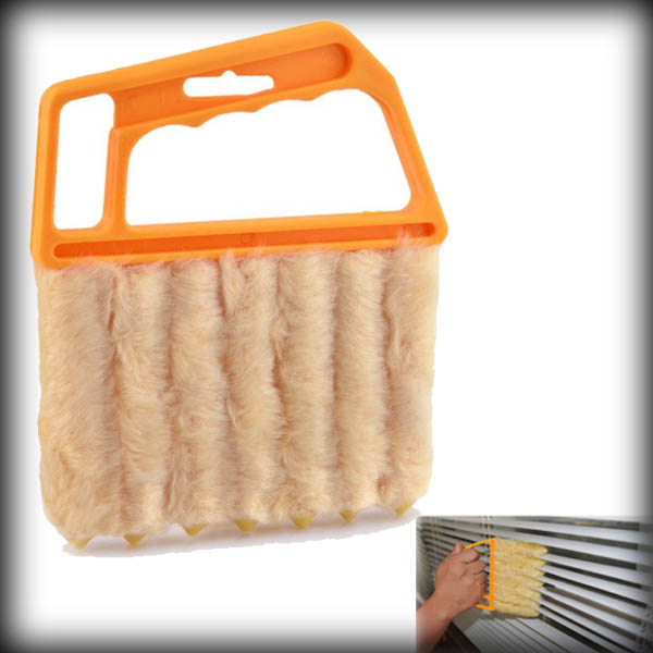 by dhl or ems 50pcs Vertical Window Blinds Brush Cleaner Air Conditioner Brush Hand Held Blinds Cleaner(China (Mainland))
