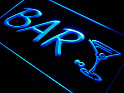 j683-b Bar Cocktail Cup Arrow Beer Pub LED Neon Light Sign(China (Mainland))