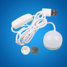 NEW Mini 2W USB LED Ceiling lamp For Desk Reading lamp Camping Book With Switch ON/OFF Emergency Night light Toys Gifts(China (Mainland))