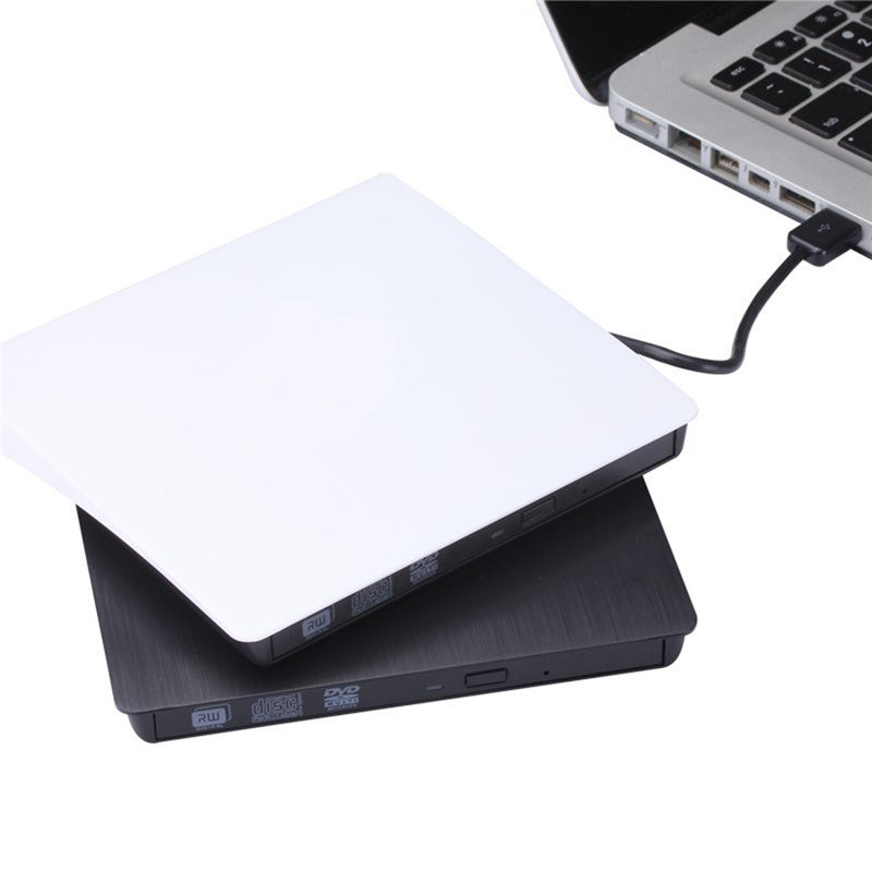 Wholesale Portable Ultrathin External USB3.0 DVD/CD RW Drive Reader Writer Burner For MAC Notebook Laptop PC Optical Drive(China (Mainland))