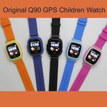 GPS Q90 WIFI Позиционирования дети Childre Умный малыш Часы SOS Вызова расположение Локатор Трекер Малыш Сейф Анти Потерянный Монитор ПК Q50 Q8080(China (Mainland))