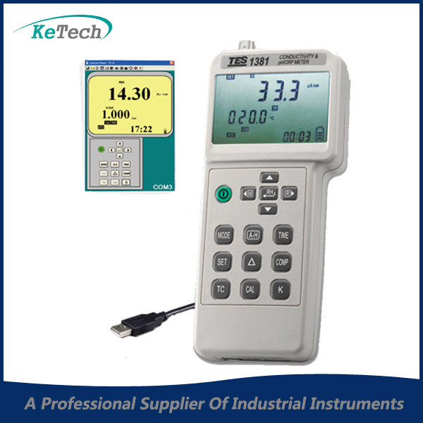 рН-метр TES1381 & ph/mv TDS TES-1381