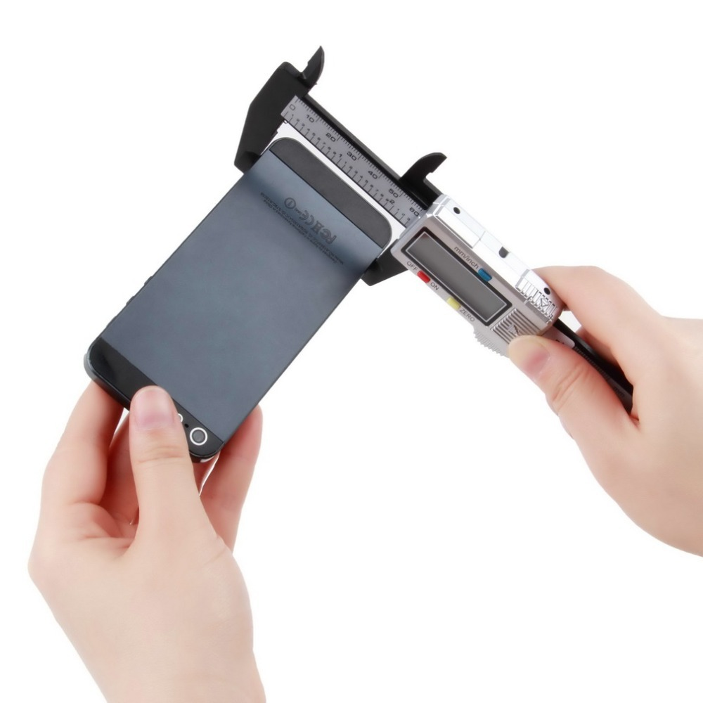 Гаджет  1pcs 6 inch 150 mm Carbon Fiber Composite Vernier Digital Electronic Caliper Ruler Worldwide FreeShipping None Инструменты