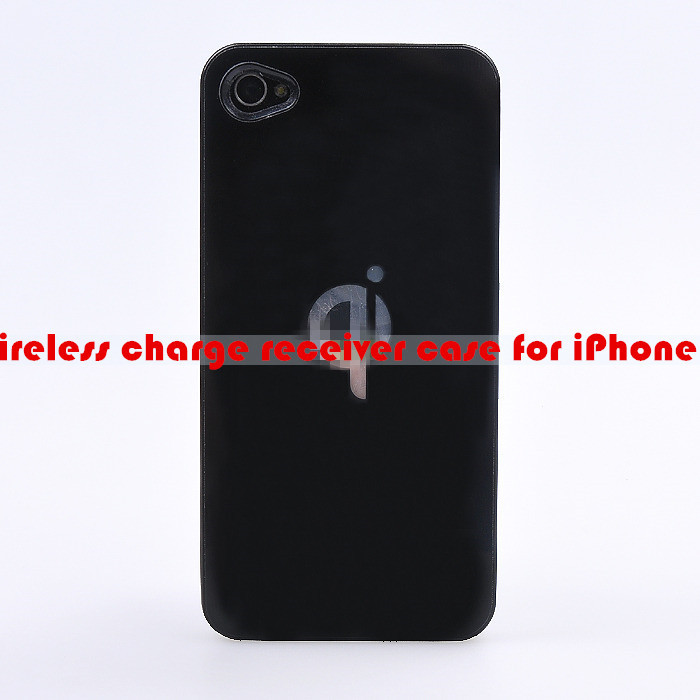 4G 4S Qi Wireless Charger Receiver qi Charging Case Cover iPhone 4 Standard Jacket  -  VIPwireless store