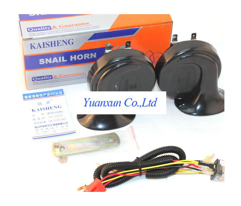 Explain the installation 12V24V car truck horn super loud whistle waterproof font b speaker b font