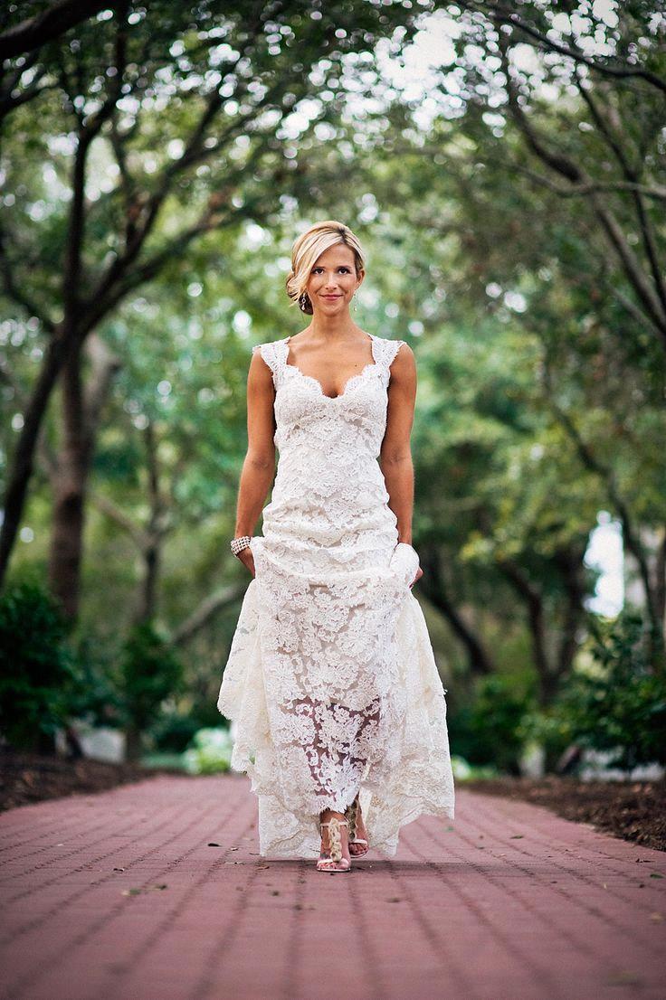 2016 Sexy Backless Beach Vestido De Noiva Romantic Appliques Lace Wedding Dress Vintage Plus Size Bridal Gown(China (Mainland))