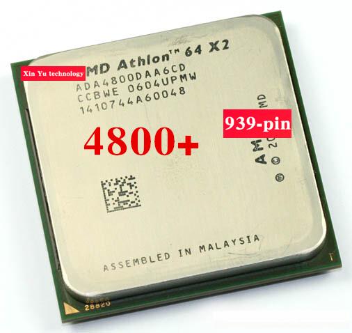 Lifetime warranty Athlon 64 X2 4800+ 2.4GHz 2M Dual Core desktop processors CPU Socket 939 pin 4800 Official version Computer<br><br>Aliexpress