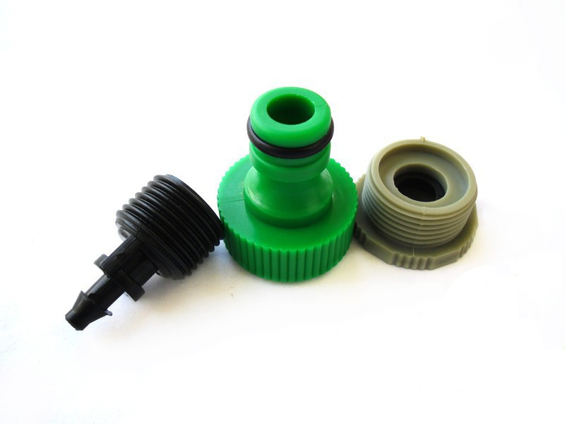 "Garden Hose Pipe Adapter ,1/2"" or 3/4""male thread Tap Connector"