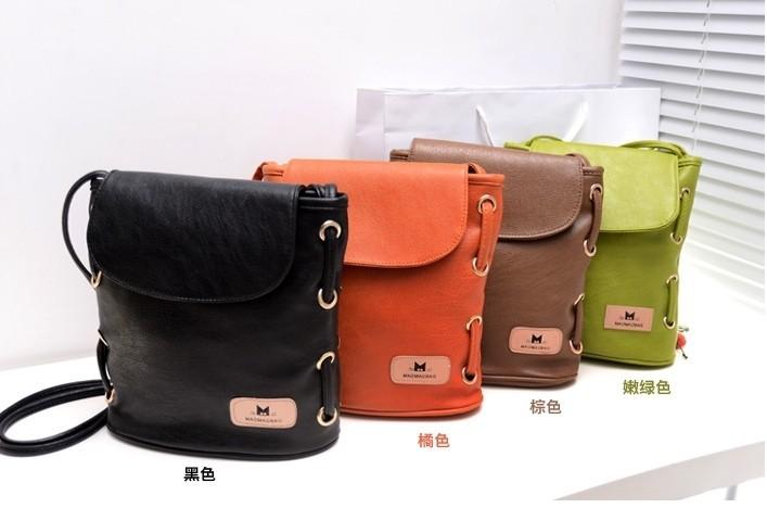 2014 new fashion small bucket bag vintage bags one shoulder cross-body handbags women messenger bags shoulder bag(China (Mainland))