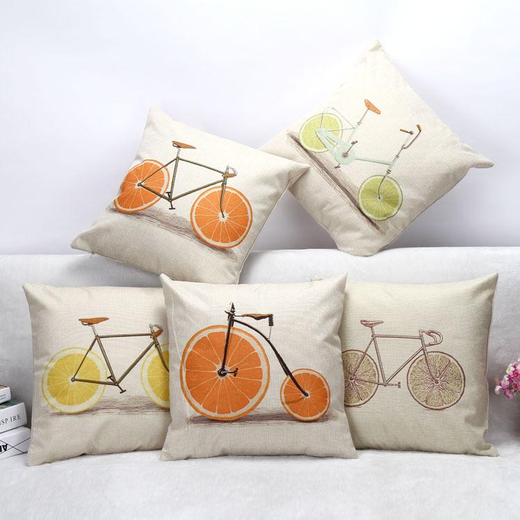 decorative sofa pillow cheap custom sublimation home decor couch sofa