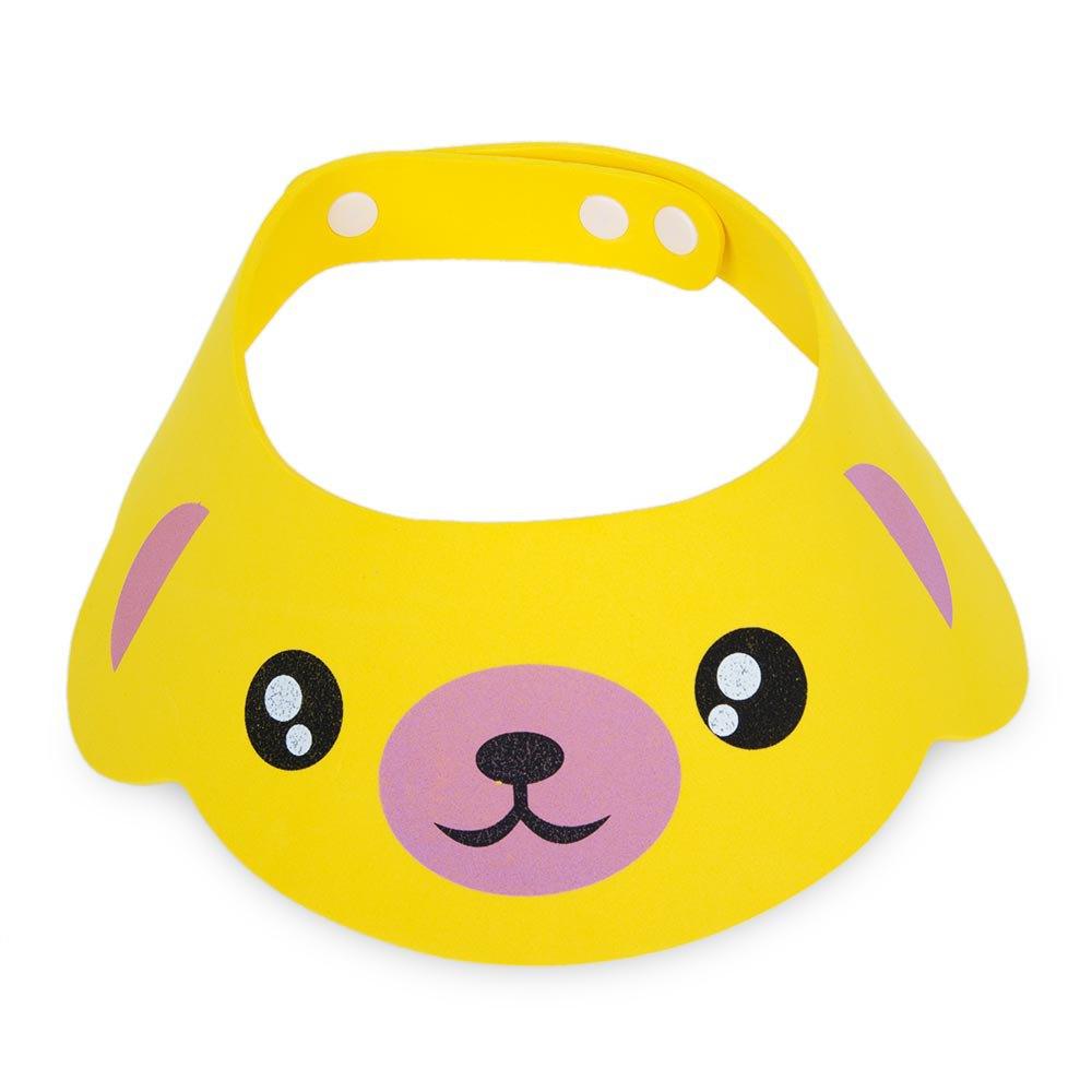 Cute Cartoon Printed Adjustable Babies Shower Shampoo Cap Soft Bonnet Baby Hat Adjustable Bathing Bath Protect Animal Printed(China (Mainland))