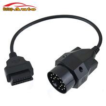 2016 New Car Diagnostic Tools OBDII OBD2 Round Diagnostic Connector Cable Scanner Adapter Tool for Bmw E36 E46 E38 E39 E53 X5 Z3(China (Mainland))