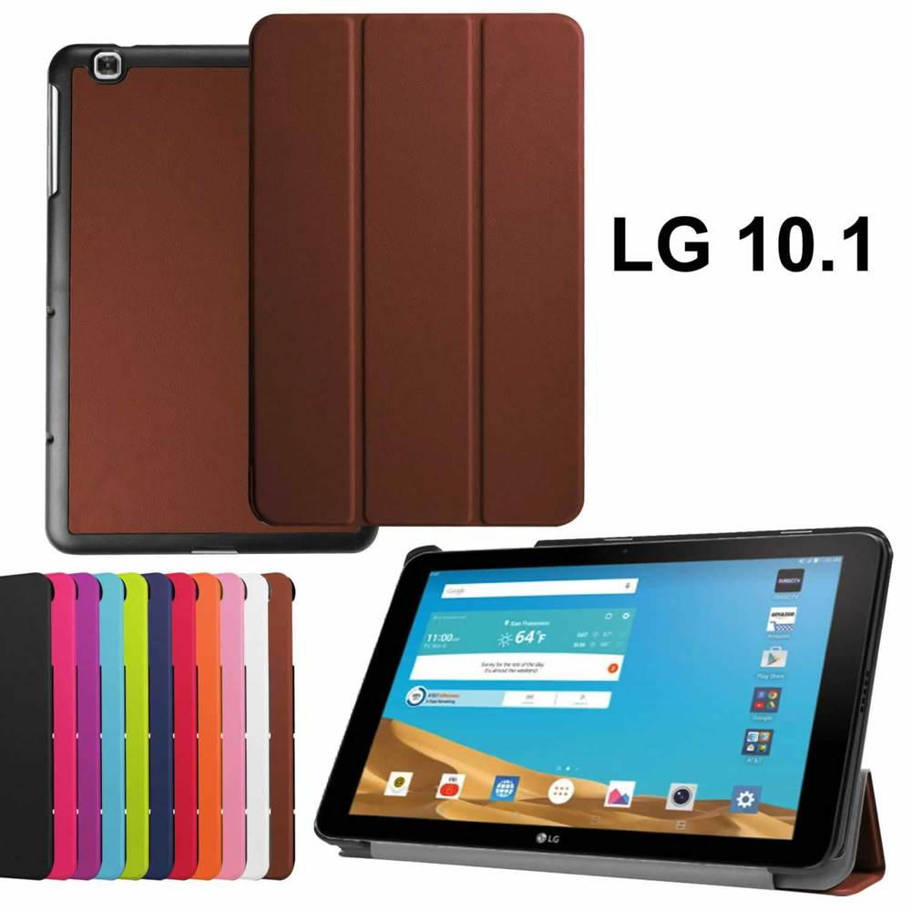 Hot Luxury Magnet Smart Stand pu leather case cover For LG ...