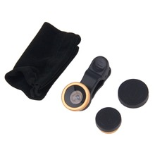 Newest 180 Degree Fisheye Universal Clip Lens Wide Angle for Cell Phones Camera HOT(China (Mainland))