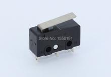 50 pcs/lot 3pin все предел переключатель N / on / C 5A250VAC KW11-3Z Mini микро-карты переключатель продаж