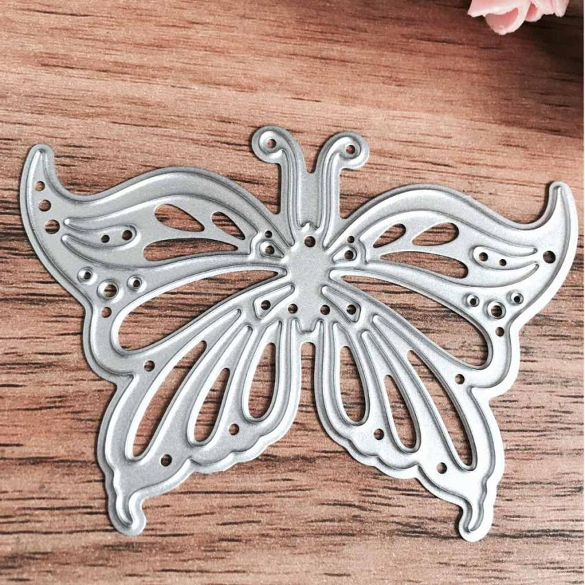 cutting dies for scrapbooking butterfly flowers christmas tree house 2017 New Metal Stencil embossing folder Fashion New