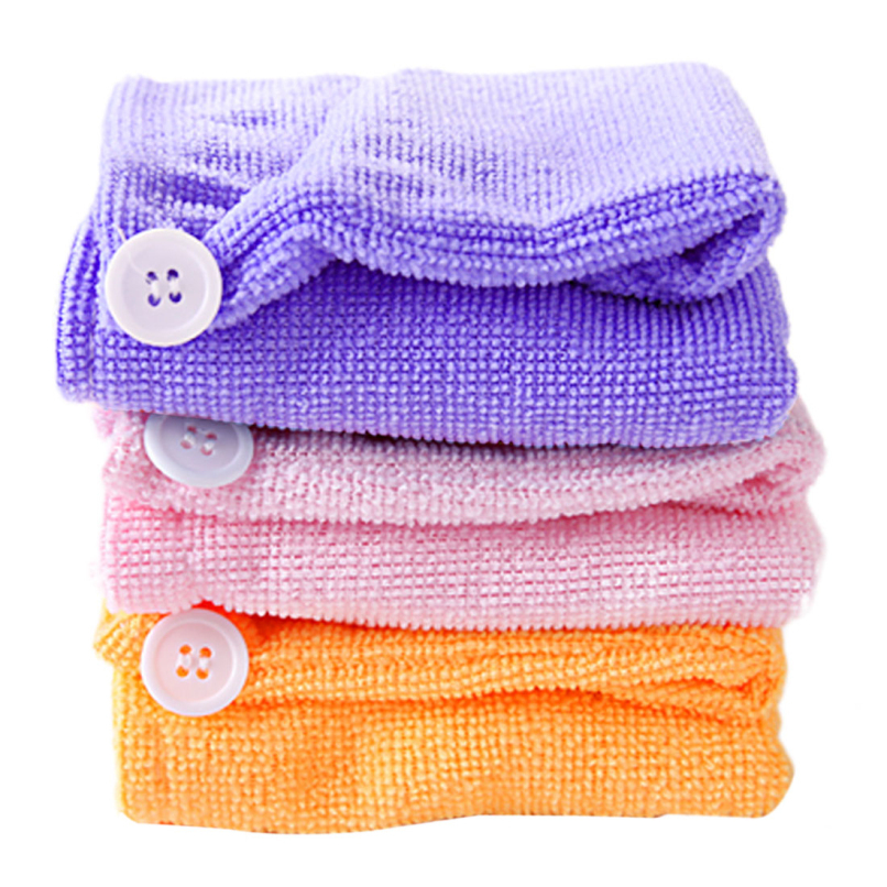 Attractive Super Fast absorbing water dry hair Ponytail Holder Cap towel,Free shipping JE24(China (Mainland))