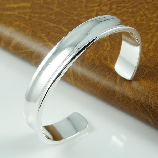 wholesale cuff bangle bracelet pulseras 925 silver