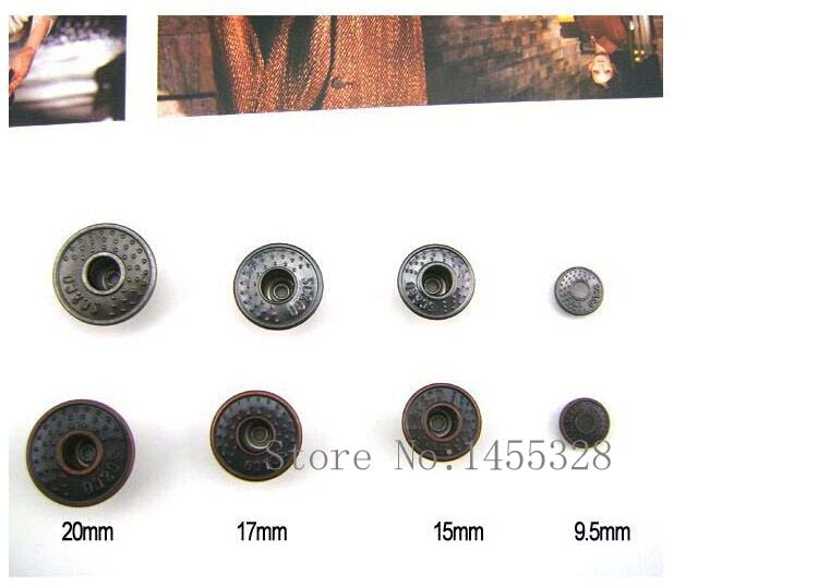 metal brass jeans buttons and rivets hollow shank button 2015070108(China (Mainland))