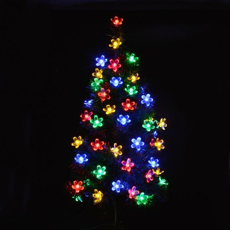 Led Garland String Lights : 10M 80 Christmas Trees Decoation Led String Lights Cherry Blossom Led Fairy Holiday Lights ...