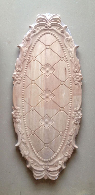 Dongyang wood carving wood cabinet doors Motif Continental furniture sofa backdrop decorative door applique patch 11(China (Mainland))