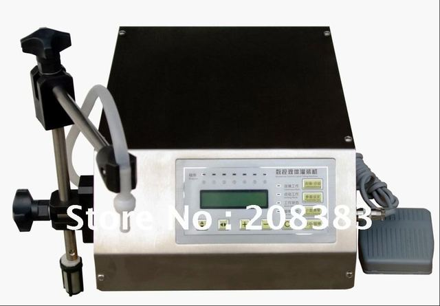 Compact Digital Control Pump Liquid Filling Machine (3-3000ml)  FREE SHIPPING