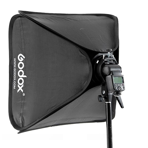 Godox Studio Lighting Kit Bag: Godox 80x80cm Softbox Bag Kit For Camera Studio Flash Fit
