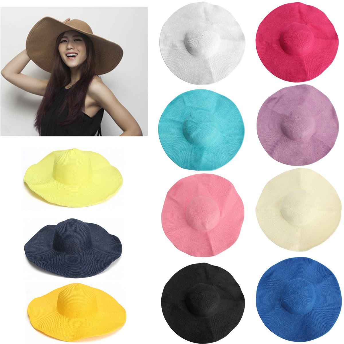 Colorful Floppy Hats Beach Sun Hat 14 Colors