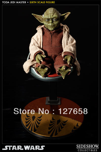 Sideshow Collectibles 100116 Star Wars Yoda Jedi Master JEDI MENTOR new box in stock now(China (Mainland))