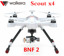 Original Walkera Scout X4 BNF ( BNF2 version ) GPS FPV RC Quadcopter (Without DEVO F12E Transmitter ) (with battery&charger)