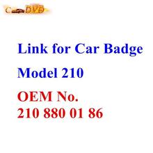 210 W210 Bonnet Hood Star Emblem Badge W202 W204 W221 W208 W220 New and Boxed Free Shipping(China (Mainland))