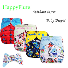 Happy Flute minionsdiaper, Without insert cloth diaper, dual gussets, color tab,baby diaper 1 pcs freeshipping(China (Mainland))