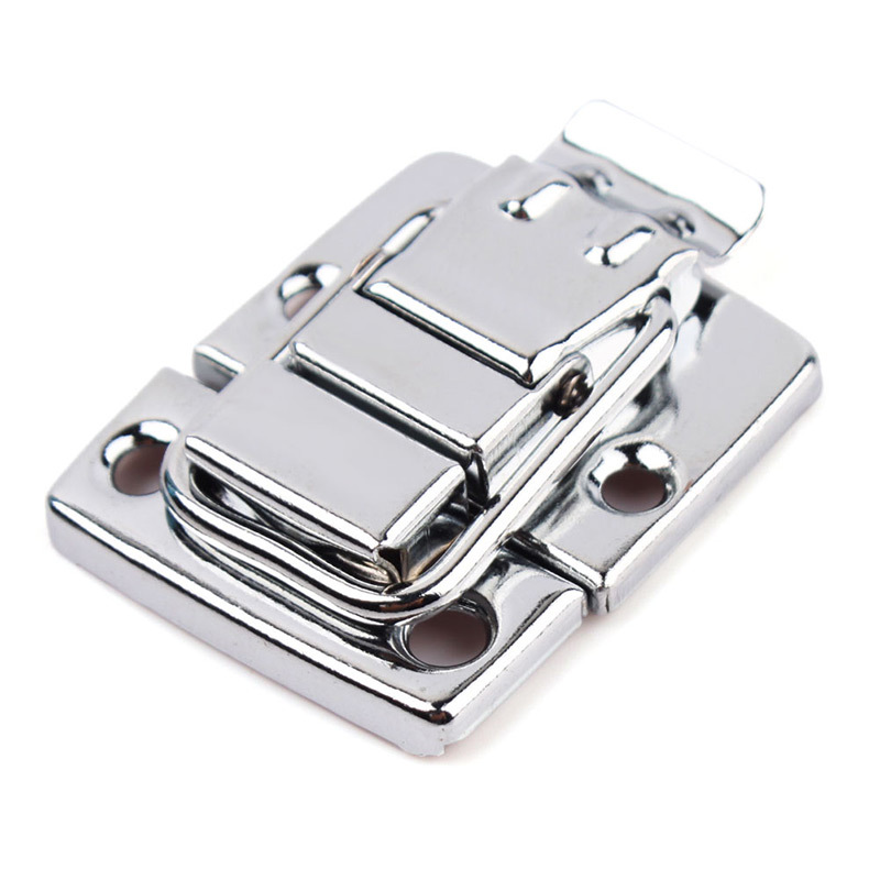 High Quality Stainless Steel Chrome Toggle Latch For Chest Box Case Suitcase Tool Clasp 1 pair #67271(China (Mainland))