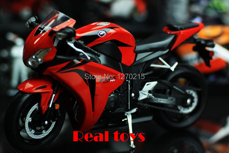 High Quality Wiley 1:10 Honda CBR 1000RR Honda Motorcycle Model Toys Car Classic Alloy Antique Car Model Wholesale Free Shipping(China (Mainland))