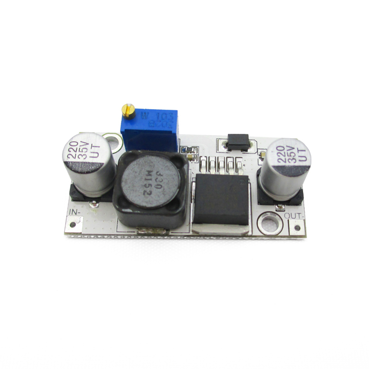 XL6009 DC-DC Boost module power module 4A output current adjustable ultra LM2577 white board(China (Mainland))