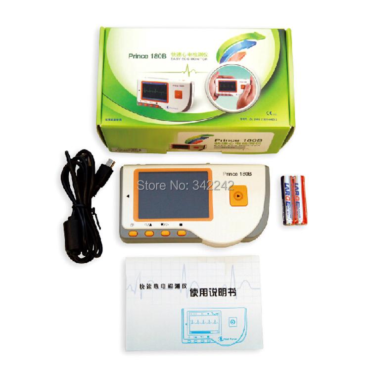 new style Mini portable ecg monitor,family fast heart rate monitor + heart rate monitoring software,Heart Monitor Software<br><br>Aliexpress