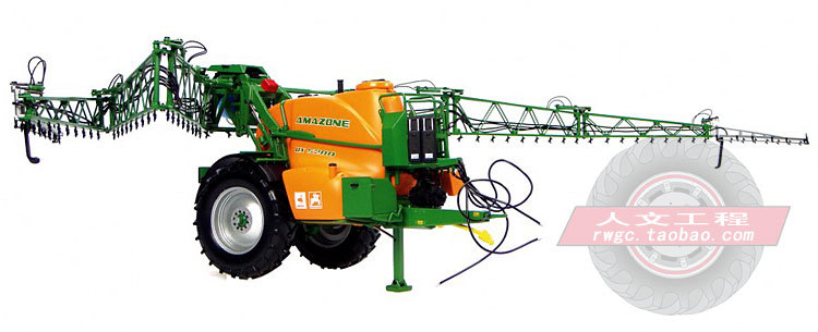 Amazone UX 5200 farm truck tractor accessories spraying machine model presents France UH 1:32(China (Mainland))