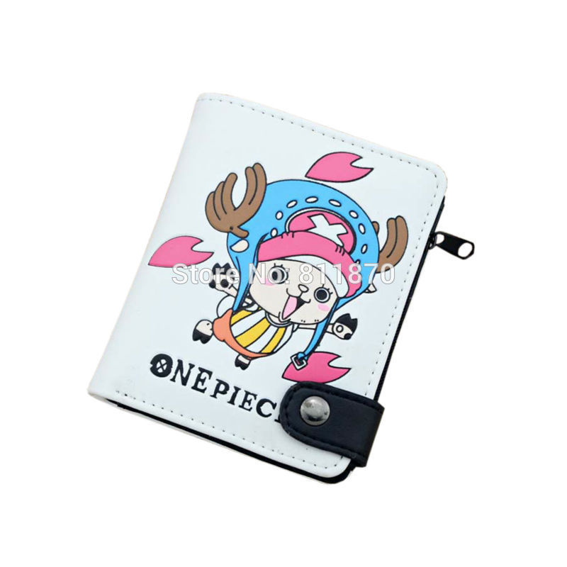 Cosplay One Piece Chopper High Quality PU Leather Wallets Coin Purse Burse Moneybag Notecase Pocketbook Vertical Free Shipping(China (Mainland))