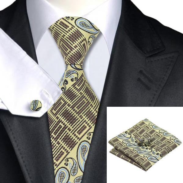 2016 Latest Popular Neckwear Mixed Color Tie Hanky ...