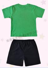 Retail new 2015 summer Baby Kids cartoon Pijamas short Sleeve Cotton Pyjamas Boys Sleepwear Childrens Clothing