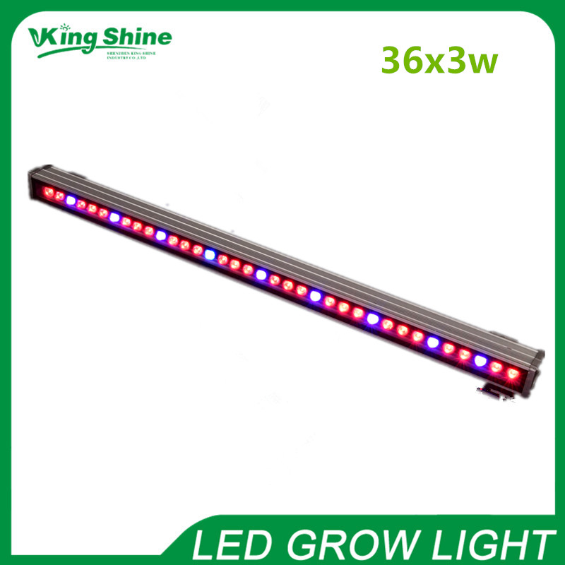 New 108W waterproof horticulture/greenhouse/hydroponics red,blue,white led grow lights for tropical plants leaves and fruiting(China (Mainland))